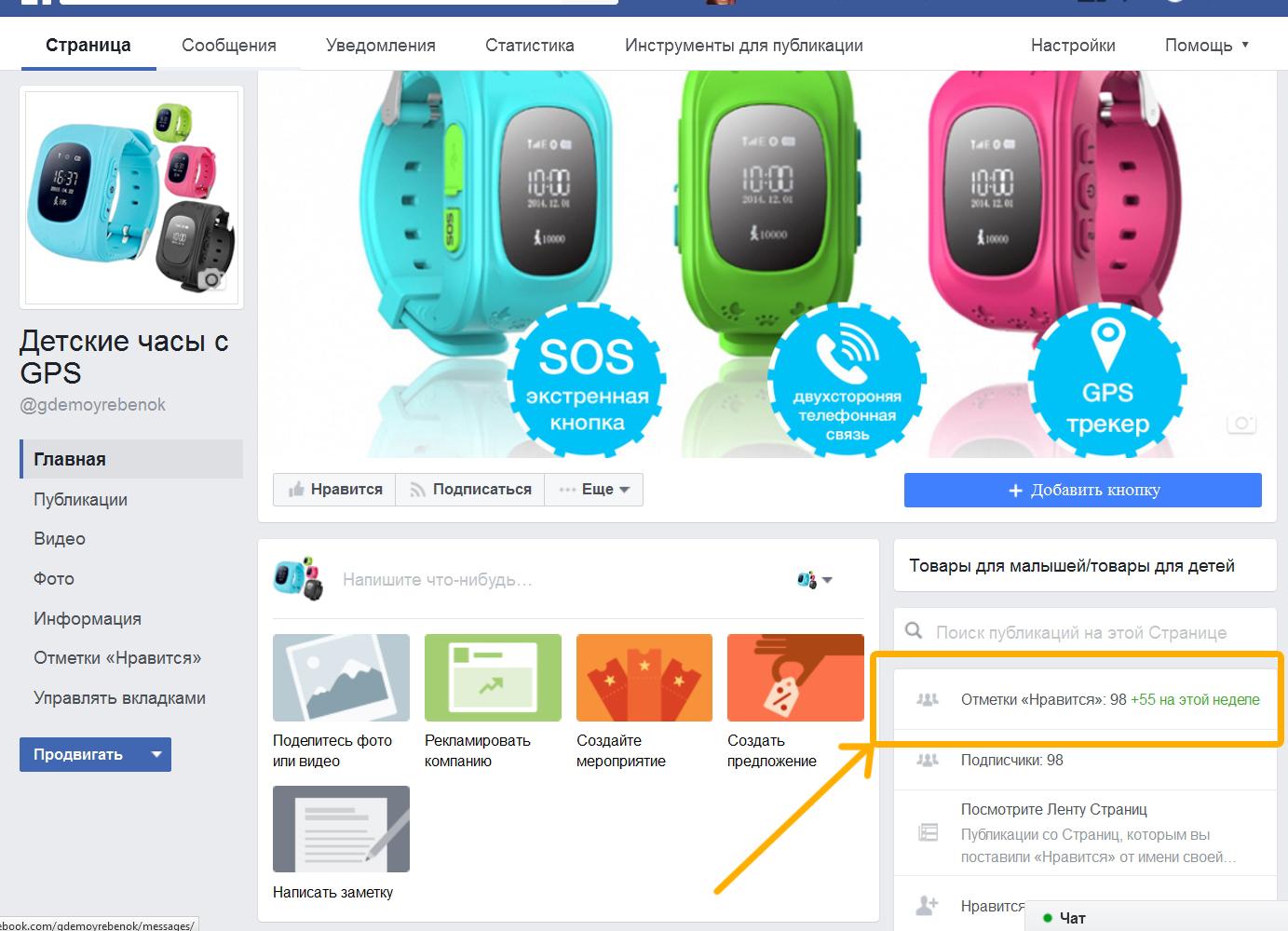 Очень маленькое количество пользователей, несмотря на большие бюджеты, которые подписались на страницу в Фейсбук, нажав на кнопку «нравится».
