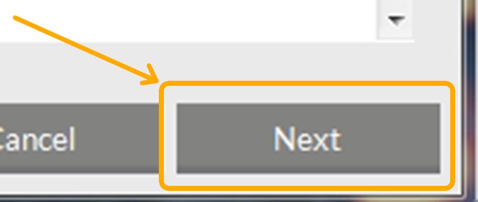 Визуальное изображение кнопки, на которую предлагается нажать пользователю, чтобы включить выбранное виртуальное устройство.